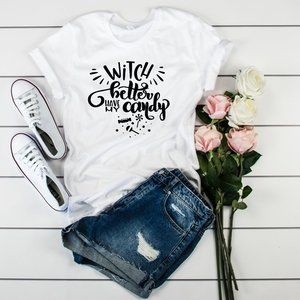 Witch Better have my Candy T-Shirt Halloween Tee